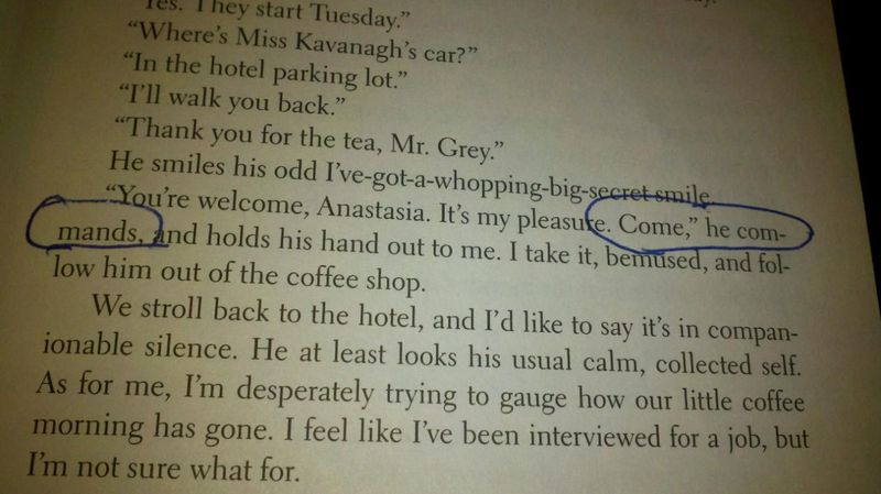 Sex excerpt from 50 shades of grey picture 94